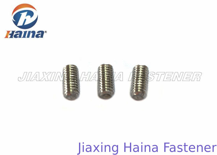 Cup Point M8 Stainless Steel Machine Screws Hexagon Socket Head For Buildings